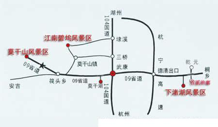 余姚自助旅游地图